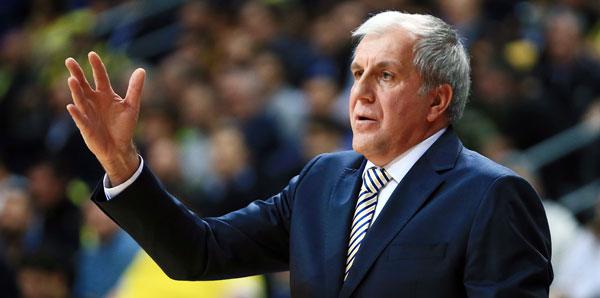 """Zeljko Obradovic: """"Benim için en önemli nokta agresif savunmamız"""""""