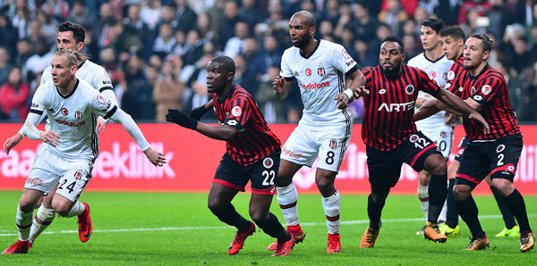Beşiktaş - Gençlerbirliği maç özeti: 3-1