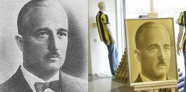 Esir kampındaki Fenerbahçe başkanı; Tevfik Haccar Taşçı