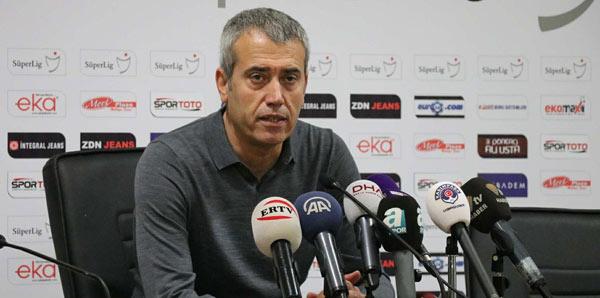 """Kemal Özdeş: """"Kalecimiz günündeydi bu yüzden gol yemedik"""""""