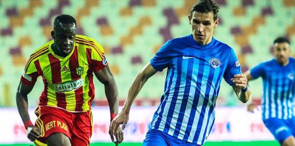 Yeni Malatyaspor - Kasımpaşa: 1-1