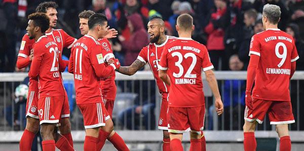 Bayern'in şikayeti yok
