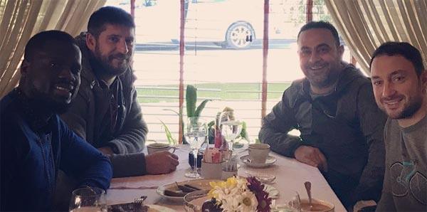 Emmanuel Eboue İstanbul'da