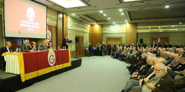 Galatasaray'da divan kurulu toplantısı yarın