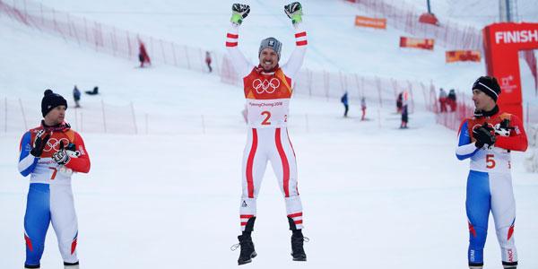 Hirscher ilk olimpiyat altınını kazandı