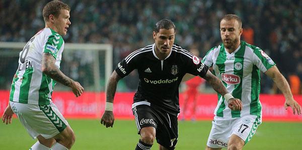 Konyaspor-Beşiktaş maçında siyah-beyazlı taraftarlar yok