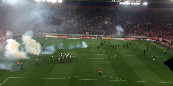 Olympiakos'a puan silme cezası
