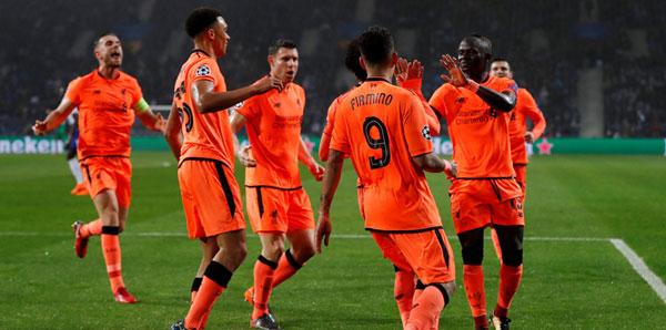 Porto - Liverpool: 0-5