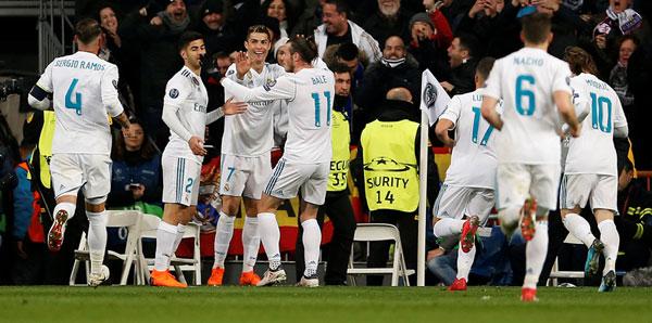 Real Madrid - Paris Saint-Germain: 3-1