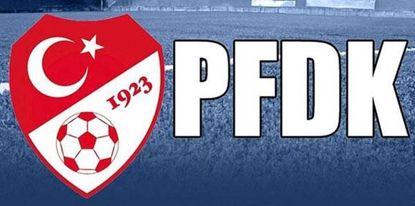 Süper Lig'de 6 kulüp PFDK'ya sevk edildi