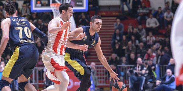 Kızılyıldız MTS - Fenerbahçe Doğuş: 63-80