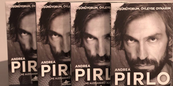 Skorer okuyucularına Pirlo kitabı!