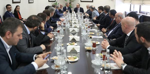 Trabzonspor'un yeni yönetimi görev dağılımı yaptı