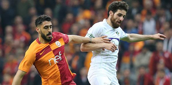 Galatasaray 0-2 Akhisarspor (İşte maçın özeti)