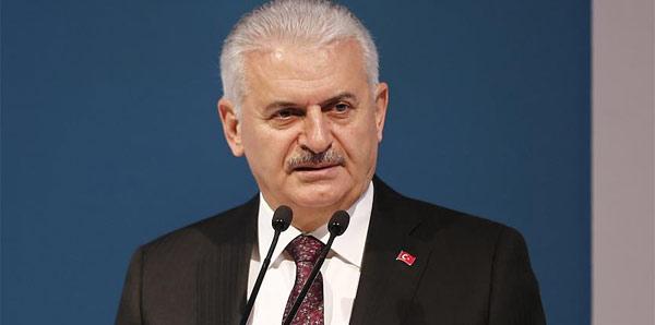 Başbakan Yıldırım Avrupa şampiyonu Galatasaray'ı tebrik etti