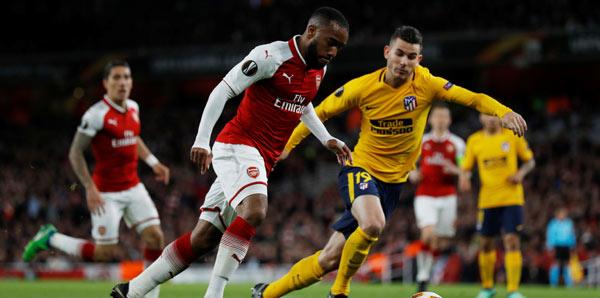 Arsenal-Atletico Madrid: 1-1