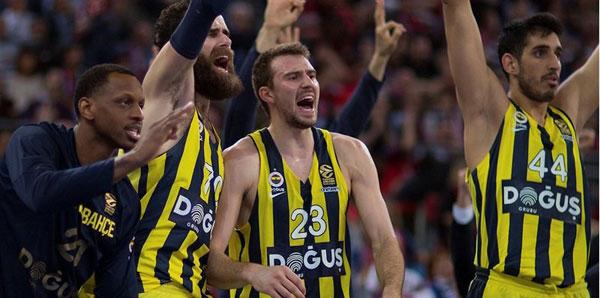 Fenerbahçe Doğuş'un Final Four maçları şifresiz