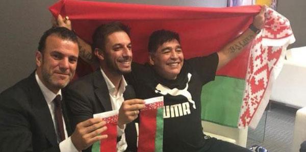 Maradona hem başkan hem teknik direktör!