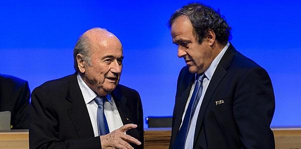Sepp Blatter'e göre sorumlu Michel Platini!
