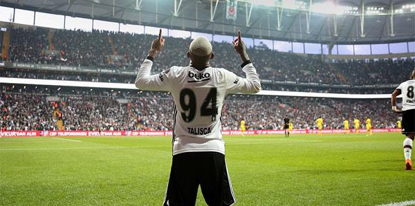 Talisca, Beşiktaş formasını son kez giyecek