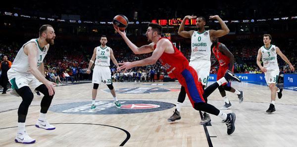 CSKA Moskova - Zalgiris: 77-79