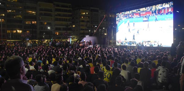 Fenerbahçe Doğuş'a İzmir'de büyük destek!
