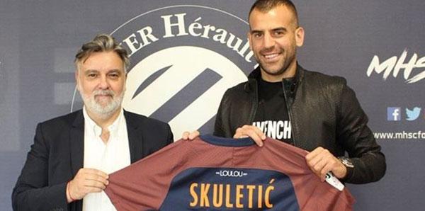 Gençlerbirliği'nin golcüsü Skuletic, Montpellier'e transfer oldu