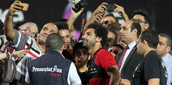 Kadirov'la görüşen Salah'a tepki