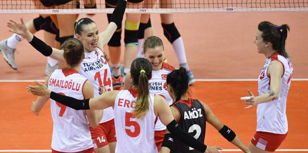 Türkiye, Almanya'yı yenerek 6'lı finallere yükseldi