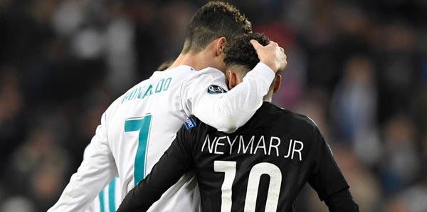 Ronaldo gidecek Neymar gelecek