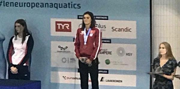 Selen Özbilen bronz madalya kazandı!