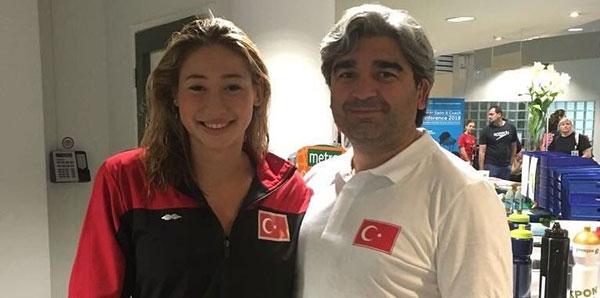Aleyna Özkan bronz madalya kazandı!