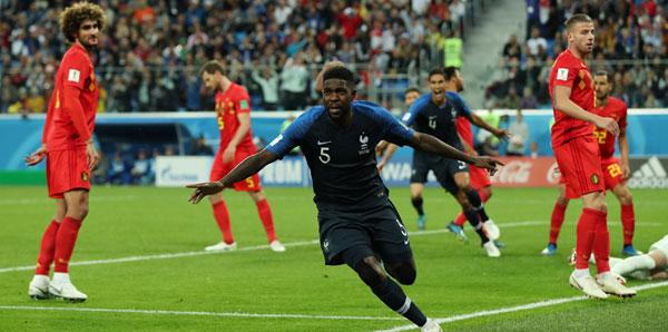Dünya Kupasında ilk finalist Fransa oldu, Belçika kupaya veda etti 13