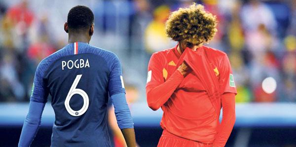 Belçika'da aynı üzüntü