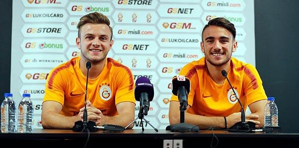 Galatasaray'ın gençlerinden Fatih Terim'e övgü!