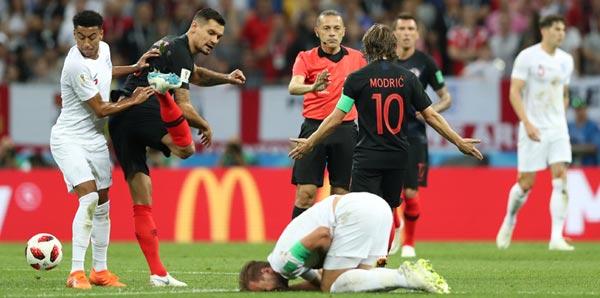 Hırvatistan - İngiltere: 2-1