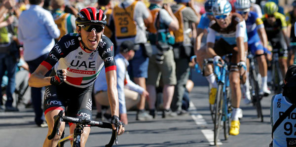 Fransa'da 6. etabı Daniel Martin kazandı