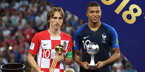 Dünya Kupası'nın en iyi oyuncusu Luka Modric!
