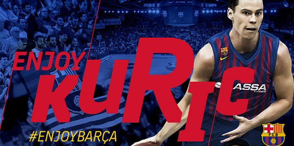 Barcelona Kyle Kuric'i kadrosuna kattı
