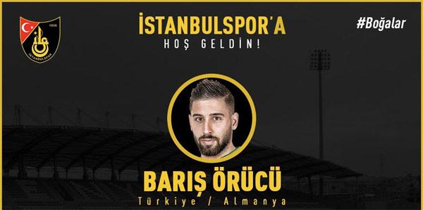 İstanbulspor, Barış Örücü'yü transfer etti