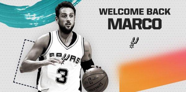 San Antonio Spurs, eski oyuncusu Marco Belinelli ile anlaştı