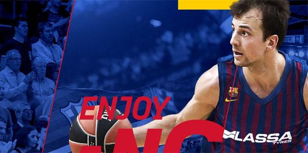 Kevin Pangos Barcelona'da
