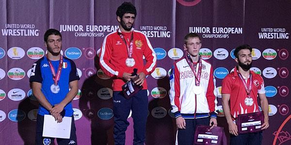 Cihat Liman bronz madalya kazandı!