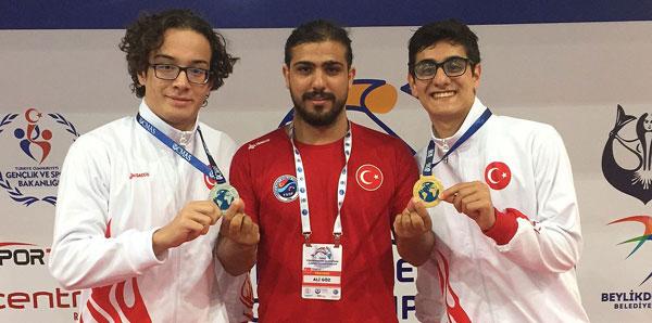 Türk sporcular 4 madalya kazandı!