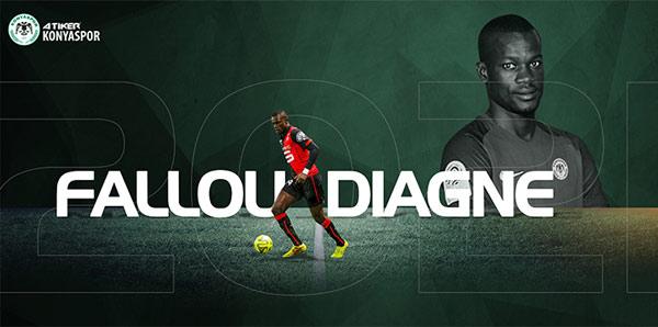 Fallou Diagne resmen Atiker Konyaspor'da!