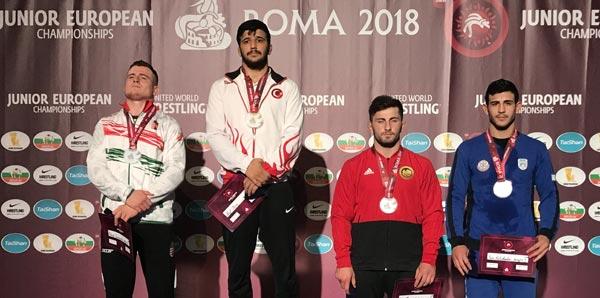Arif Özen, Avrupa şampiyonu oldu