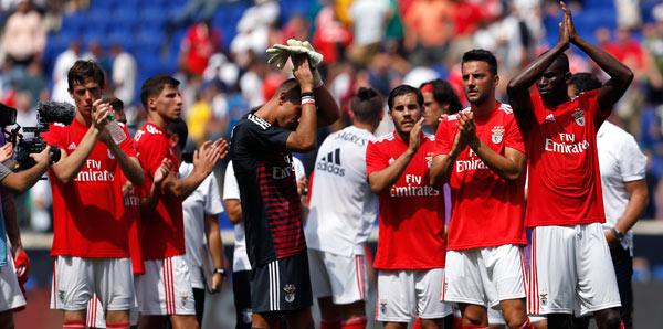 Benfica'nın 21 kişilik maç kadrosu açıklandı!
