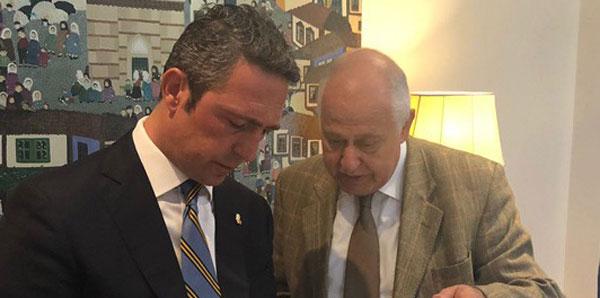 Ali Koç'tan Lizbon Büyükelçisi'ne ziyaret