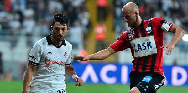Beşiktaş 1-0 LASK Linz (İşte maçın özeti)