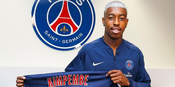 Presnel Kimpembe, 2023'e kadar PSG'de!